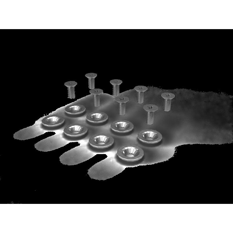 Mounting disc Screws & Washers